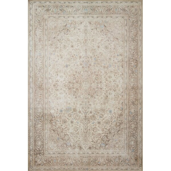 Raul Sand Area Rug  by Bloomsbury Market