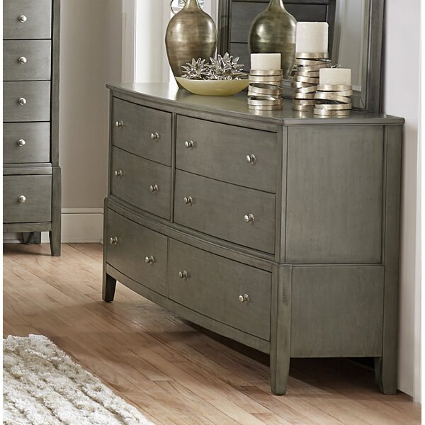 Jeffries 6 Drawer Dresser by Wrought Studio