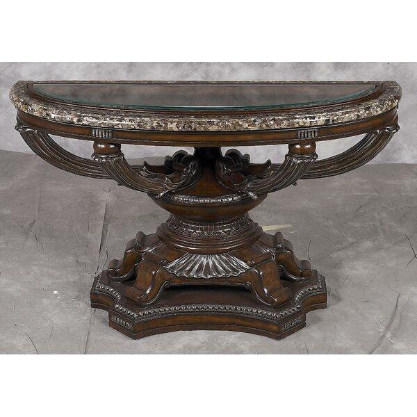 Benetti's Italia Brown Console Tables