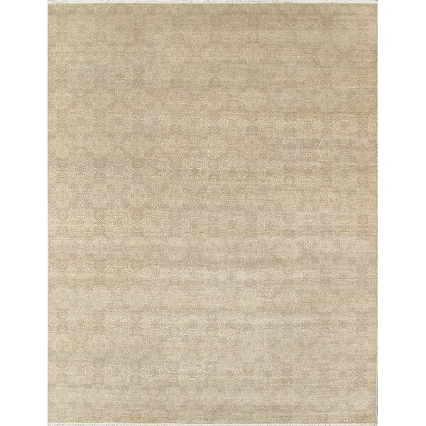 Hand-Knotted Wool and Rayon from Bamboo Silk Area Rug by Pasargad