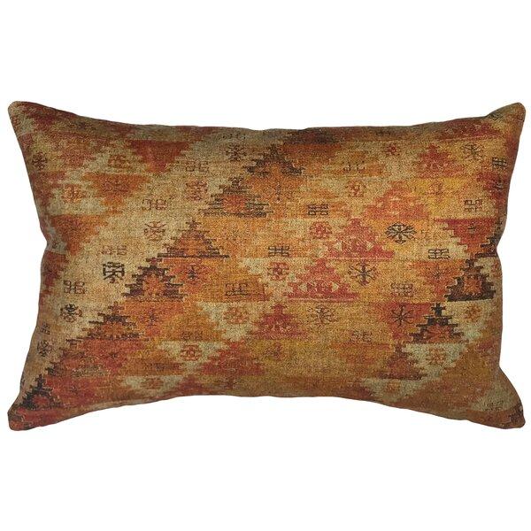 Cragin Worldly Linen Lumbar Pillow by Bloomsbury Market