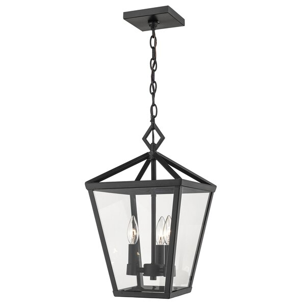 Adelaide 4-Light Outdoor Hanging Lantern by Gracie Oaks