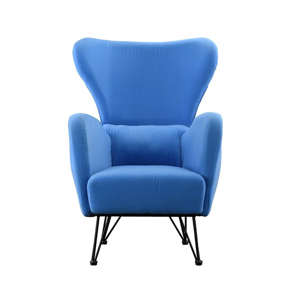 Calhoon Wingback Chair by Ivy Bronx
