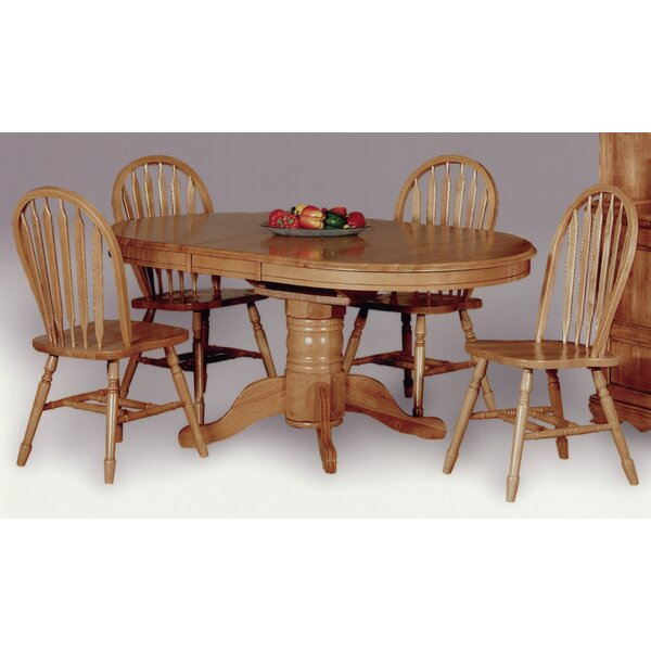 Irie 5 Piece Dining Set by Loon Peak