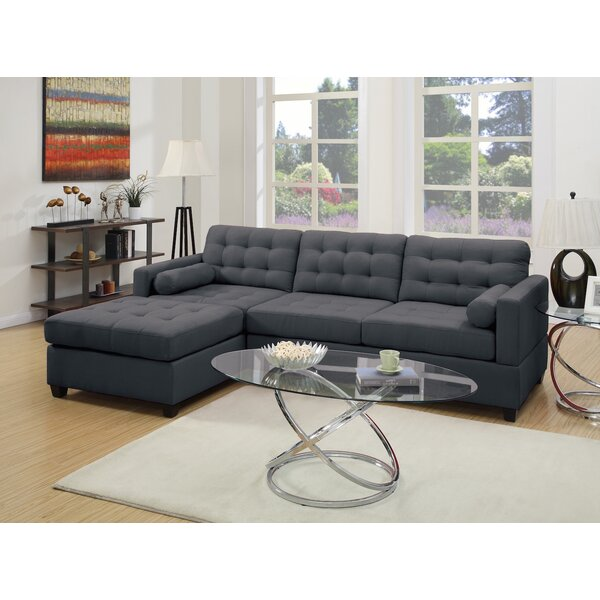 Left Hand Facing Sectional By Infini Furnishings