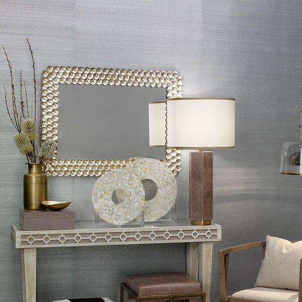 Champagne Accent Mirror by Bay Isle Home