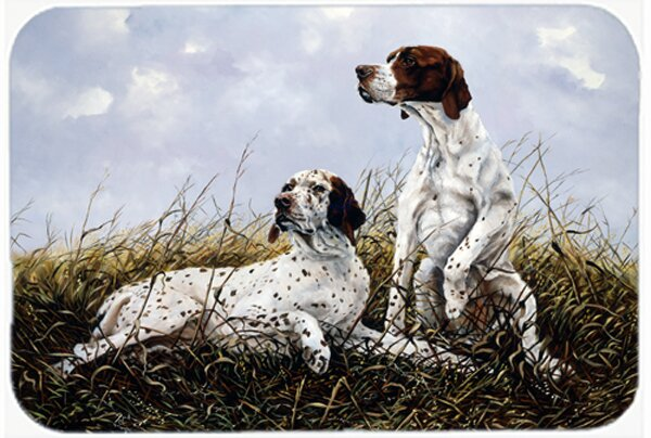 English Pointer by Michael Herring Kitchen/Bath Mat by Caroline's Treasures