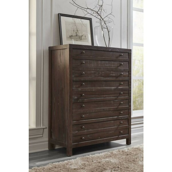 Daquan Solid Hardwood 9 Drawer Chest by Foundry Select