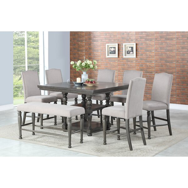 Oakton 8 Piece Dining Set by Astoria Grand Astoria Grand