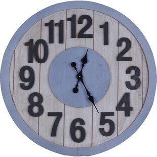 Oversized Grandbrook MDF 33.5 Wall Clock