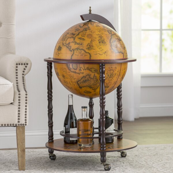 Globe Drinks Cabinet Floor Standard by World Menagerie