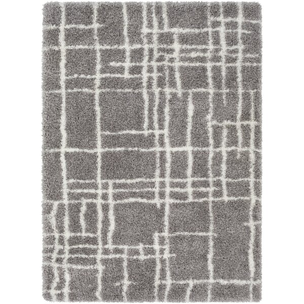 Zachariah Bohemian Taupe/Cream Area Rug by Williston Forge