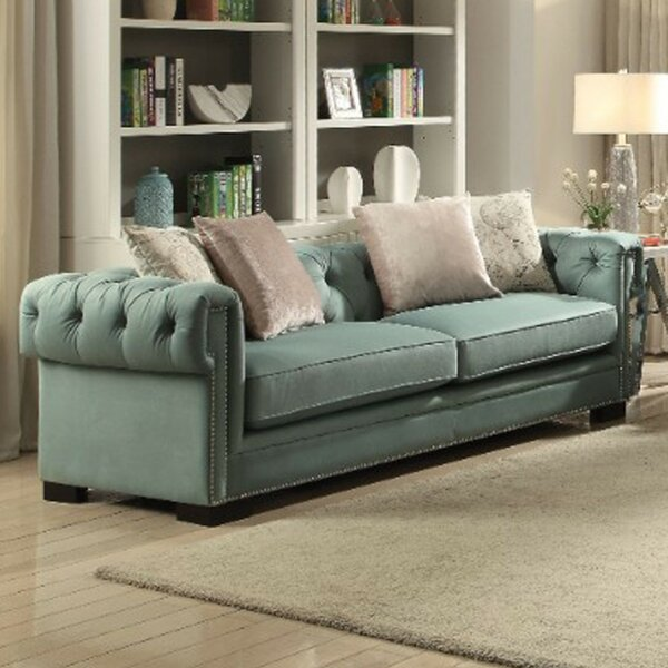 Armand Upholstered Chesterfield Sofa by Highland Dunes
