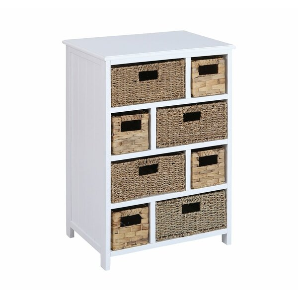 Abbigail Beach 8 Drawer Accent Chest by Rosecliff Heights Rosecliff Heights