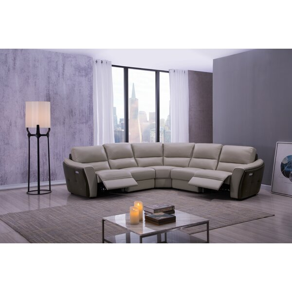 Minnick Symmetrical Reclining Sectional By Latitude Run