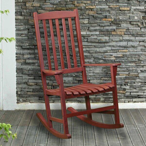 Alden Porch Rocking Chair by Wildon Home ®