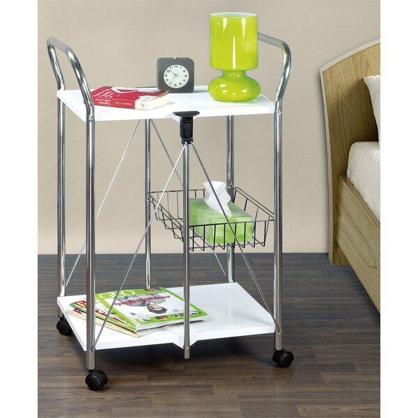 Sunny Kitchen and Utility Trolley Bar Cart by Wenko Inc Wenko Inc
