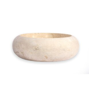 Find for Fiji Stone Circular Vessel Bathroom Sink By Hispania Home