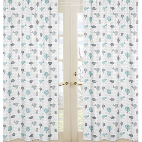 Earth and Sky Curtain Panels (Set of 2) by Sweet Jojo Designs