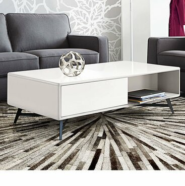 Riojas End Table with Storage by Orren Ellis