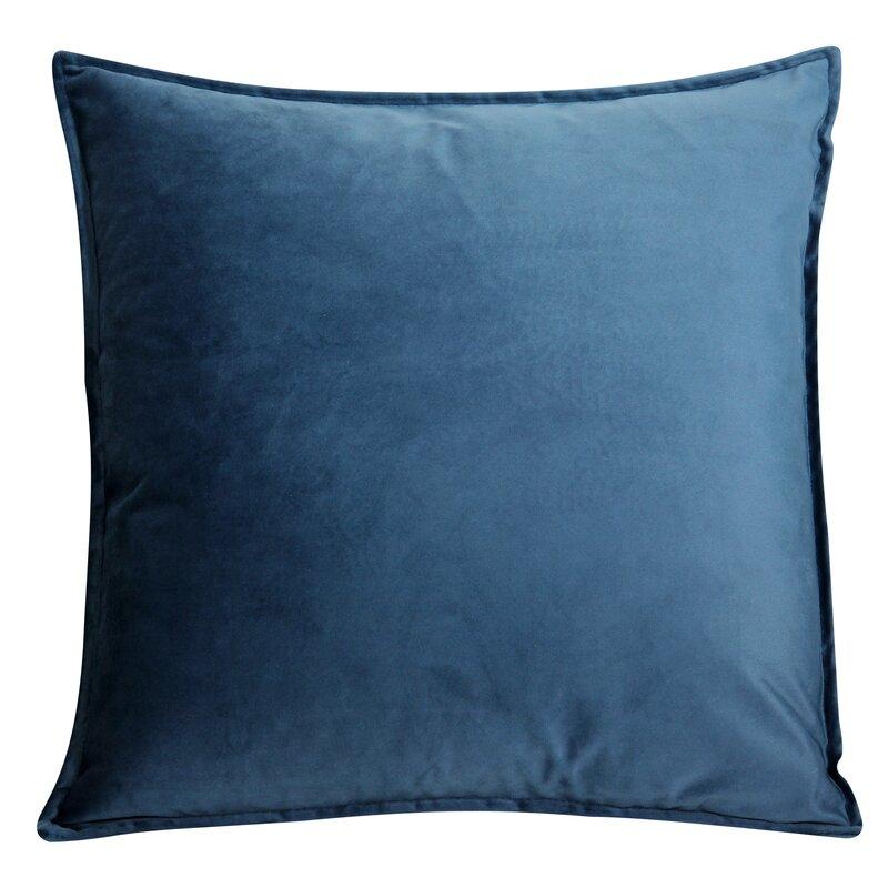 Ebern Designs Velvet Cushion Pillow