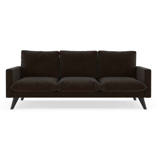 Crampton Satin Weave Sofa by Corrigan Studio