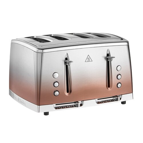 Russell Hobbs Eclipse 25143 4 Slice Toaster - Copper
