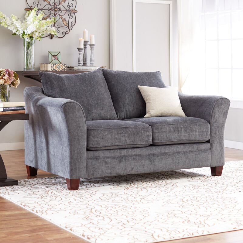 Red Barrel Studio Simmons Upholstery Bethany Loveseat & Reviews ...