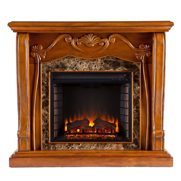 Eng Electric Fireplace by Astoria Grand