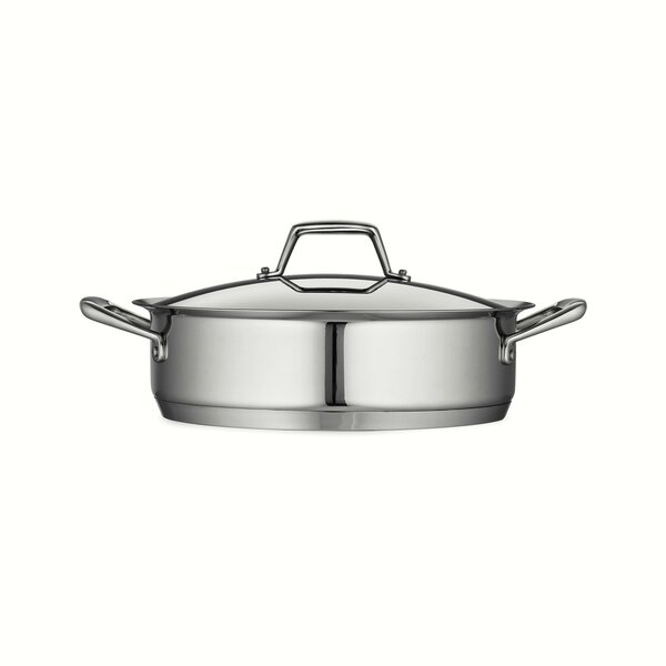 Gourmet Round Prima Covered Casserole by Tramontina
