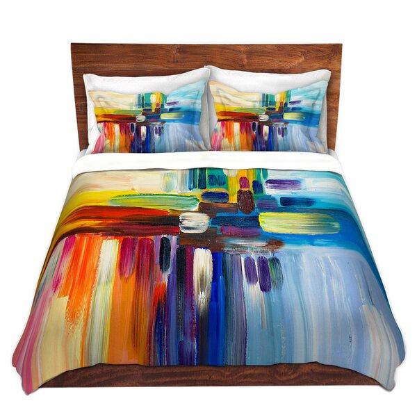 Sievers Lam Fuk Tim Colorful Stripes Rainbow I Microfiber Duvet Covers