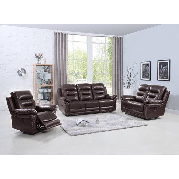 Amazing Trower Reclining 3 Piece Living Room Set By Red