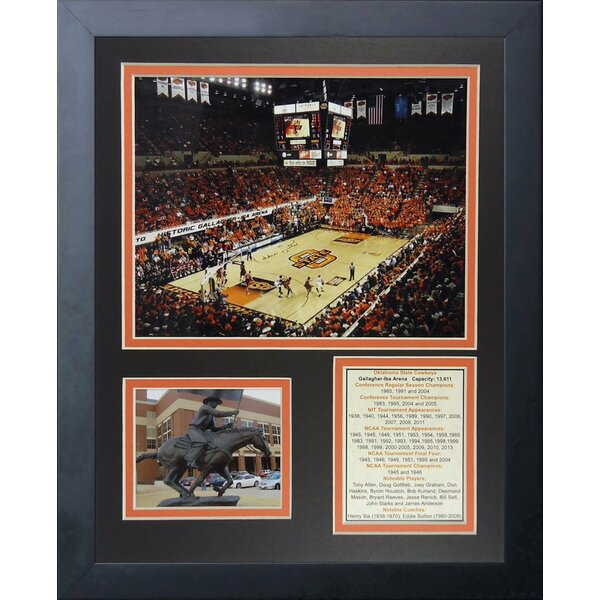 Oklahoma State Cowboys Gallagher-Iba Arena Framed Memorabilia by Legends Never Die
