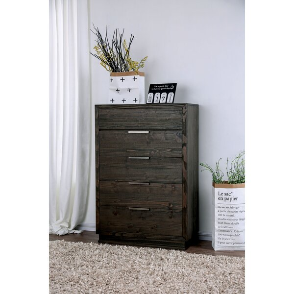 Larock 5 Drawer Chest by Millwood Pines