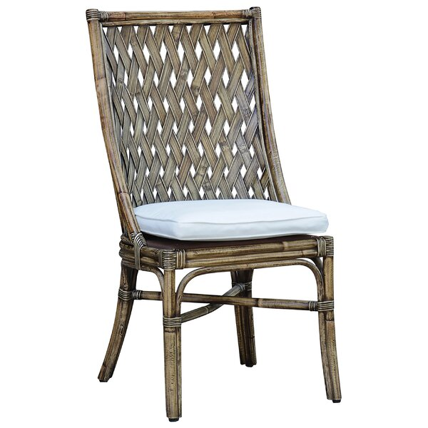 Old Havana Side Chair in Honey by Panama Jack Sunroom Panama Jack Sunroom