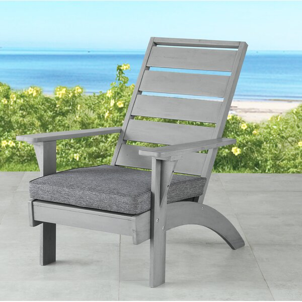 Katniss Patio Chair with Cushions by Beachcrest Home