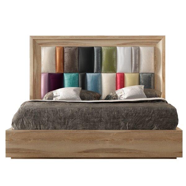 Helotes Upholstered Standard Bed by Orren Ellis