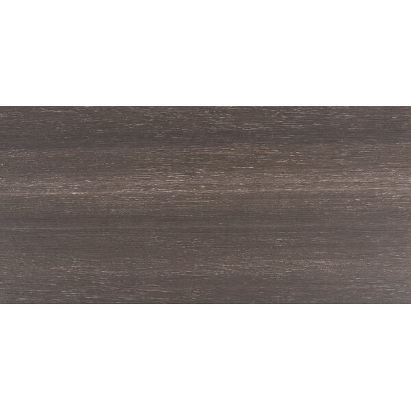 Turin Nero 12 x 24 Ceramic Field Tile in Black by MSI