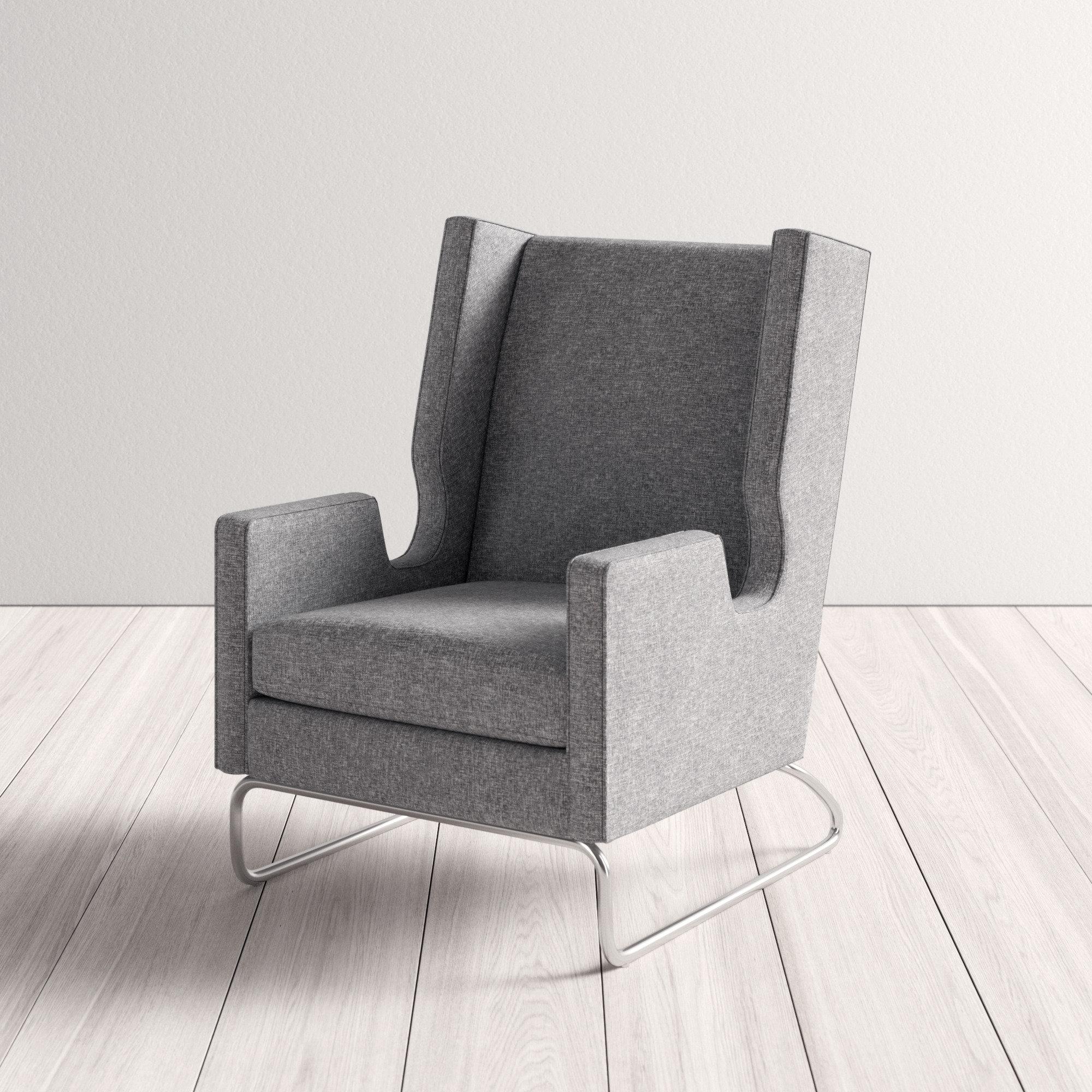 Tremendous Danforth Wingback Chair Customarchery Wood Chair Design Ideas Customarcherynet