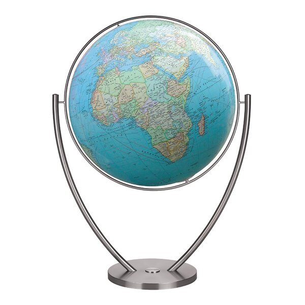 Magnum Plus Duo Illuminated Floor Globe by Columbus Globe