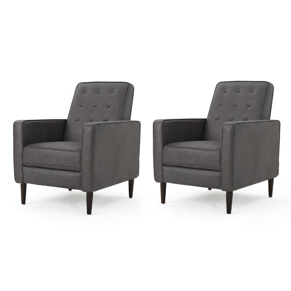 Platt Recliner (Set of 2) by Zipcode Design