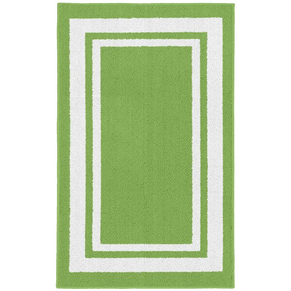 Ackerson Lime/White Indoor/Outdoor Area Rug by Sol 72 Outdoor