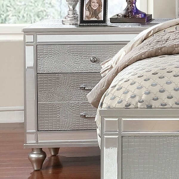 Boyce 3 Drawer Nightstand by Mercer41