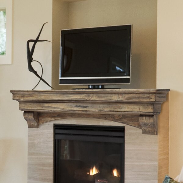 Celeste Fireplace Shelf Mantel by Pearl Mantels