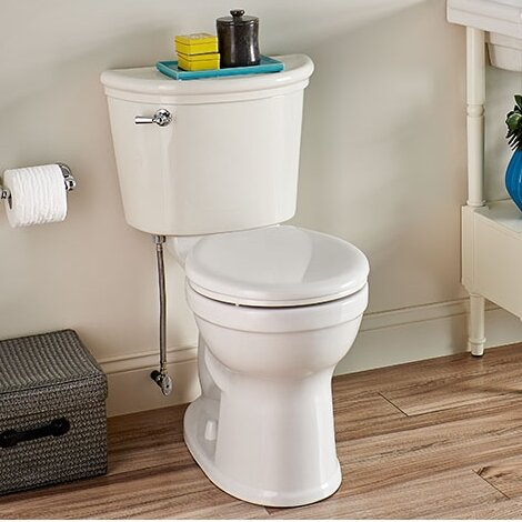 Champion 1.28 GPF Round Two-Piece Toilet by American Standard