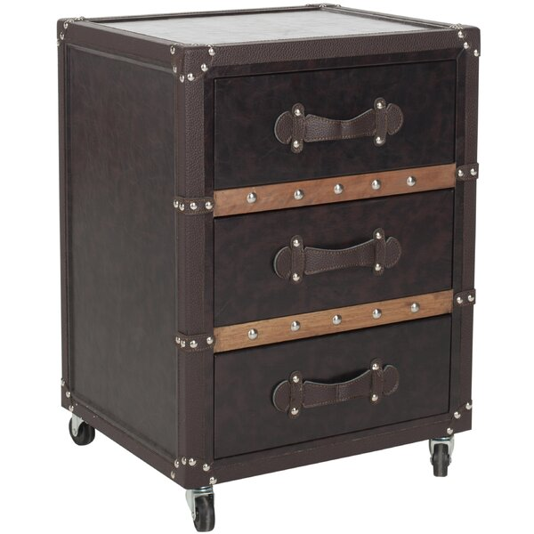 Norman 3 Drawer Accent chest by Safavieh