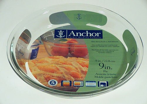 9 Pie Plate (Set of 6) by Anchor Hocking