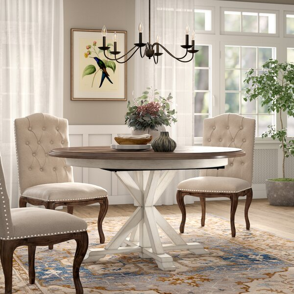 Susanna Extendable Dining Table by Birch Lane Heritage Birch Lane™ Heritage