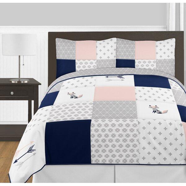 Fox Patch 3 Piece Queen Comforter Set by Sweet Jojo Designs