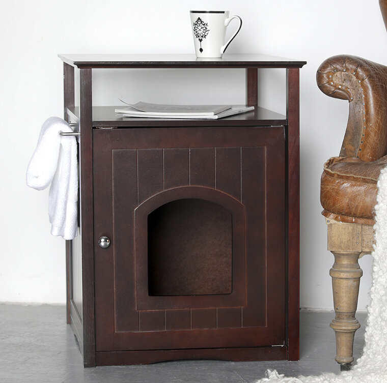 Adrianne Litter Box End Table